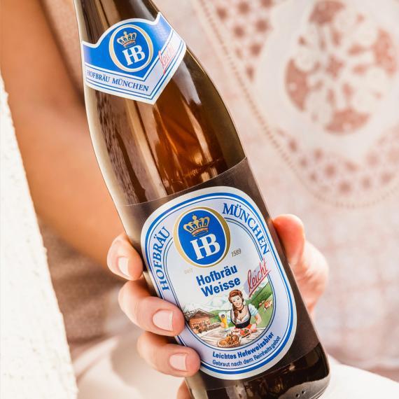 Hofbräu Weisse leicht